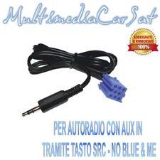 Cavo Spinotto Adattatore Audio Ingresso AUX IN MP3 FIAT 500 Bravo dal 2007 4140