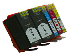 5 Ink Cartridges for HP Officejet Pro 6830, 6230, 934XLBK 935XLC 935XLM 935XLY