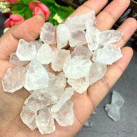50g White Crystal Stone Natural Quartz Healing Specimen Raw Mineral Rough Reiki