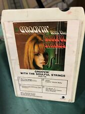 Eight Track Tape Groovin' With The Soulful Strings ORIGINAL