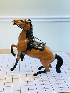 Vintage HARTLAND Semi Rearing 1950S 60S HARTLAND GIL FAVOR HORSE - Rare