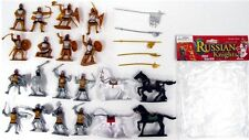 Playsets - Russian Knights Plastic Soldiers 54mm 1/32 Horses