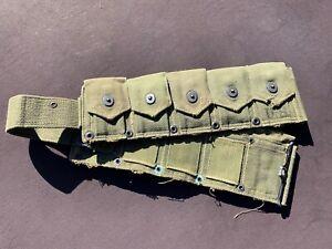 WWII M-1 Garand cartridge belt