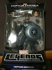 HASBRO MARVEL LEGENDS WINTER SOLDIER STEALTH CAPTAIN AMERICA UNOPENED MANDROID