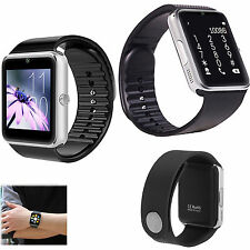 Bluetooth Smart Wrist Watch Call Sync Phone Card For Android Samsung Blackberry