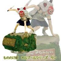 Studio Ghibli Rapid Air Princess Mononoke Sun Figure Music Box Japan 5577