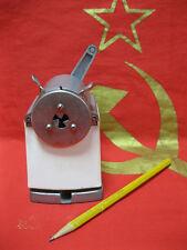 Metal pencil sharpener desktop Soviet Russian made in USSR Last Century