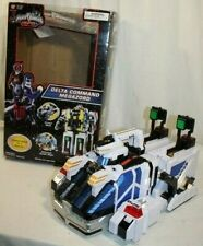 Bandai Power Rangers SPD Deluxe Delta Command Megazord W/ OG Box. missing hand