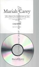 CD--PROMO--MARIAH CAREY--ALL I WANT FOE CHRISTMAS IS YOU--2 TRACKS
