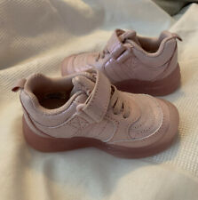 surprize by stride rite baby girl size 5 pink athletic shoes