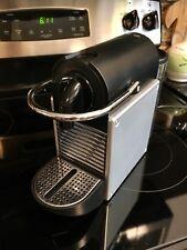 Nespresso Pixie D60 Aluminum & Black Espresso Machine Maker