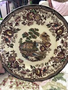 """Vintage ROYAL STAFFORDSHIRE Clarice Cliff TONQUIN Dinnerware: DINNER PLATE 10""""D"""