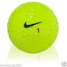36 AAA Nike RZN White Volt Yellow Used Golf Balls (3A)