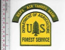 National Forest USFS Air Tanker Base Aviation US Forest Service Patch