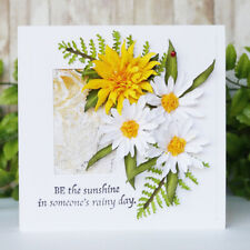 New listing Flower Metal Cutting Dies Stencil Diy Scrapbooking Embossing Paper Craft Us