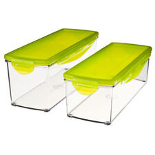 NEW Set of 2 Spare Containers for Nicer Dicer Plus Food Slicer