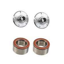 Set of 2 Rear Wheel Bearings Trailing Arm + 2 Wheel Hub Fits: BMW E30 E36 Z3 E85