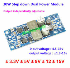 30W DC-DC Boost Converter 5v-35v to ±5V  ±12V ±15V P/N Dual Power Supply Module