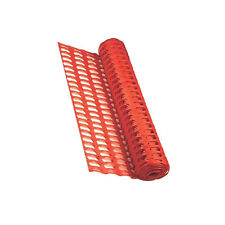 Rete arancio per delimitazione cantiere 120x50cm