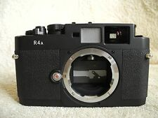 Voigtlander Bessa R4A Leica M-Mount 35mm film camera. V. good cosmetic condition