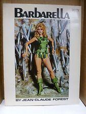 Barbarella, Grove Press 1966 Graphic Novel.  Jane Fonda photo cover