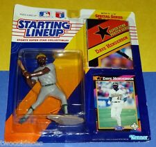 1992 DAVE HENDERSON Oakland Athletics A's - FREE s/h - final Starting Lineup