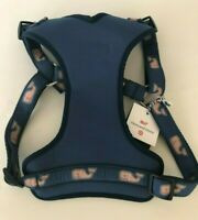 Vineyard Vines by Target Dog Harness XL Navy Whale NWT