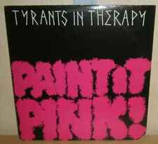 """Tyrants In Therapy: Paint It Pink 12"""" on '85 JDC Records USA"""