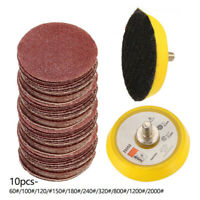 5.1cm 100Pcs Sablage Disques Coussinet Kit pour Perceuse Broyeur Rotary Outils*