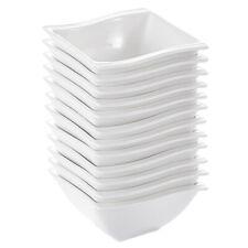 MALACASA Serie Regular Porzellan Müslischale Set Salatchüssel Schüsseln