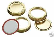 Kitchen Craft 12 Preserving KilnerStyle Jar Replacement Spare Lids & Rings HDLID