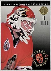 1993-94 Leaf Painted Warriors Ed Belfour