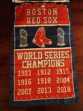 Boston Red Sox World Series 3x5 Flag 2018. US seller. Free ship within the US!!!