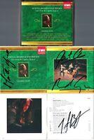 ARGERICH, CAPUCON, BRONFMAN Signed LUGANO 2002-04 Vengerov Zilberstein Dina 3CD