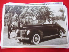 1940 FORD CONVERTIBLE  11 X 17  PHOTO  PICTURE