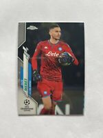 2019-20 Topps Chrome UEFA Champions League Alex Meret SSC Napoli Card #5