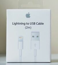 Apple Lightning to USB 2.0 Cable 2m - MD819ZM/A AUTHENTIC OPEN BOX