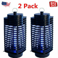 2X Electric Mosquito Fly Bug Insect Zapper Killer Trap Lamp 110V Stinger Pest GA