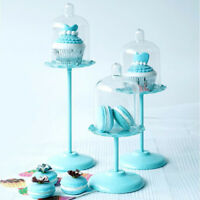 Mini Cake Stand Single Cupcake Stand Mini Dessert Pastry Plates with Cover