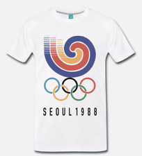 T-SHIRT MAGLIA OLIMPIADI SEUL 1988 OLYMPIC GAMES SEOUL 1988 -  S-M-L-XL