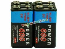 4pc Durable 9V 9 Volt 9-Volt 600mAh Power Ni-Mh Rechargeable Battery Cell PPS CA