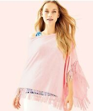 New Lilly Pulitzer *Summer Weight* LANI WRAP Cotton CoolMax Heathered Pink NWT