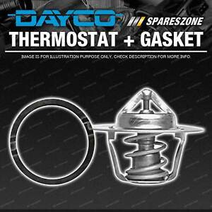 DAYCO Thermostat + Gasket for Ford Fairlane Fairmont Falcon LTD AU BA BF Temp 91