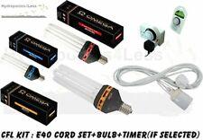 125w 200w 300w CFL KIT Dual Cool Warm Light Bulb Hydroponic Grow Tent OMEGA