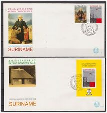 Surinam / Suriname 1982 FDC 61 + 61a  Petrus Donders beatification religion