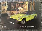 MG -MGB  Sport Car 16 Page Sales Brochure May 1975 3041/A