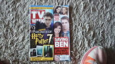 AUSTRALIAN TV WEEK MAGAZINE, 2010 NOV 13, HARRY POTTER, OFFSPRING, RAFTERS
