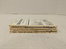 Martial Arts - Self Defense Book Lot of 4 books - Bruce Tegner FREE SHIPPING!!