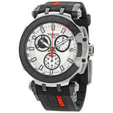 Tissot T-Race Chronograph Quartz White Dial Men's Watch T115.417.27.011.00