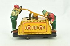 Railroad Hand Car Battery Operated KDP Japan Central R.R. Tin Litho